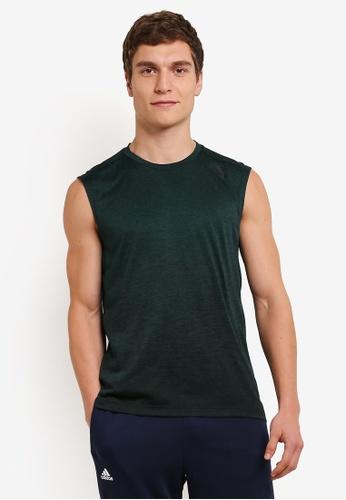 adidas green adidas gradient sleeveless top AD372AA0S83XMY_1