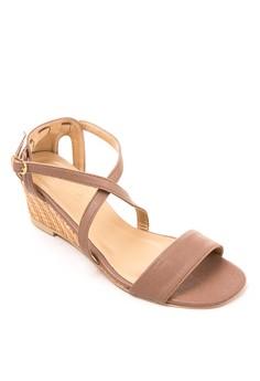 Halina Wedge Sandals