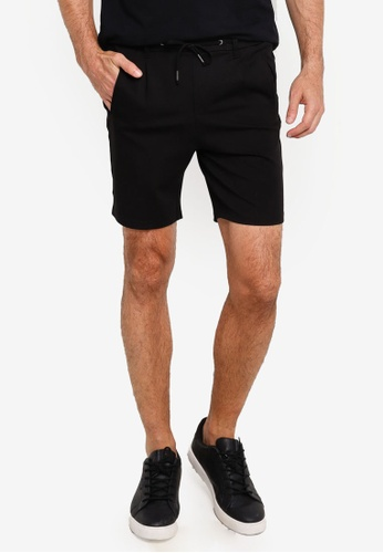 Jack & Jones black Trash Shorts 9FCA7AA5D0E9E1GS_1
