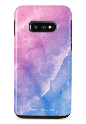 Polar Polar pink Sweet Rainbow Samsung Galaxy S10E Dual-Layer Protective Phone Case (Glossy) 2B5FEAC8A85D97GS_1