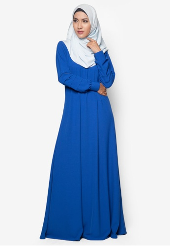 Amar Amran blue Jubah Afifa AM362AA99BUUMY_1