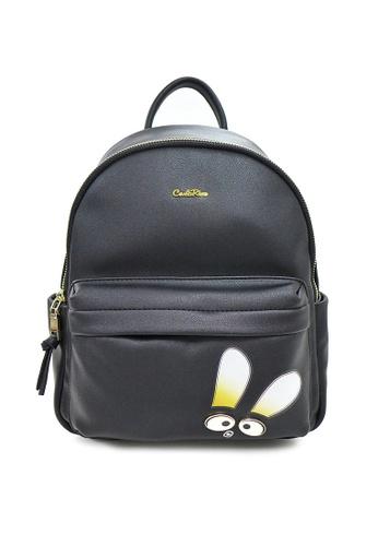 Carlo Rino black Carlo Rino 0304319A-002-08 Backpack (Black) 9B47BAC48A5E9CGS_1