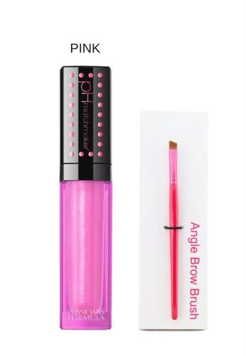 Physicians Formula Lip Gloss: [Physicians Formula Official]  Matchmaker pH Powered Lip Gloss - Pink  (FREE x1 Angle Brow Brush) PH385BE72JXFMY_1