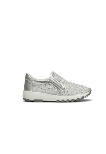 prettyFIT silver Sporty Sneaker SW-770 92F68SHC17B4DBGS_1
