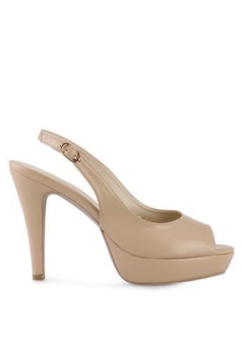 Nicholas Edison beige Heel Fenella NI905SH32HUTID_1
