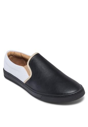 撞色拼接懶人zalora 鞋評價鞋, 鞋, 休閒鞋