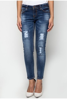 Slim And Cropped Jeans