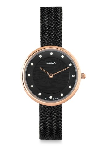 ZECA black Zeca Ladies Watches - 1001LP(2).M.P2.RG4 C6285AC1A5859AGS_1