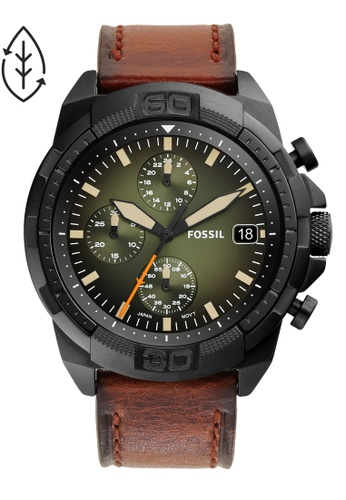 FOSSIL brown Bronson Watch FS5856 F652AAC277FDFAGS_1