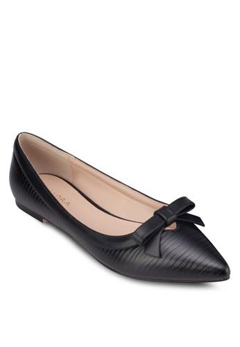 蝴蝶結尖頭平底鞋, 女zalora是哪裡的牌子鞋, 芭蕾平底鞋