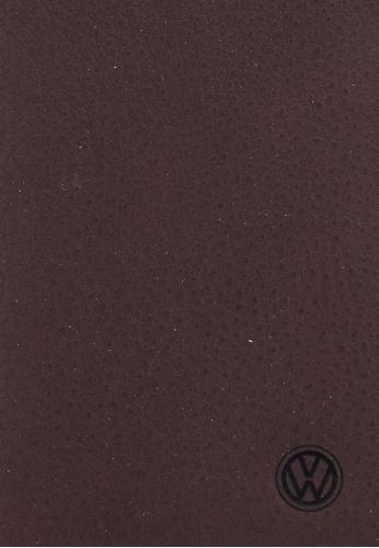 Volkswagen brown Volkswagen Genuine Leather RFID Blocking Long Wallet A604FAC5C10304GS_1