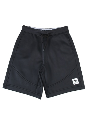 Abercrombie & Fitch black Synthetic Shorts AEAD6KA8C9847AGS_1