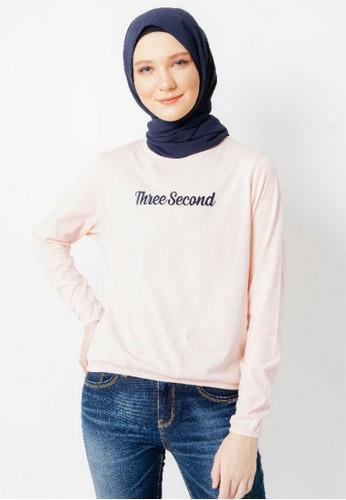 3SECOND pink Women Tshirt 121220 8ED1BAADD24707GS_1