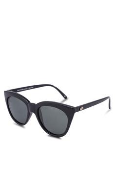 7bb17265286 Le Specs black Halfmoon Magic 1802483 Sunglasses 38789GL9A8856BGS 1