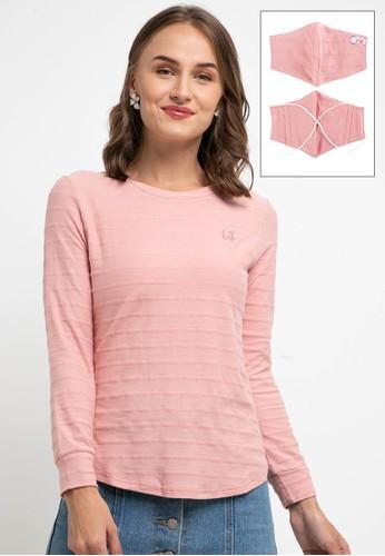 Exit pink Elvira T-Shirt D295BAAE6A4801GS_1