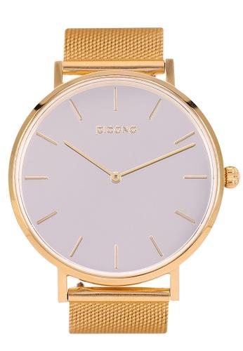 PICONO Watches gold MIRROR T Minimalist Fashion Mirror Dial Watch PI771AC2VURJHK_1
