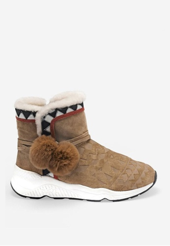 ASH brown Mongolia Cb - Brown  Boots CBDE1SH7CFB0A1GS_1