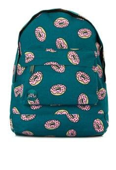 7f3c80731be Mi-Pac navy Doughnut Backpack 124A1ACDB968D2GS 1
