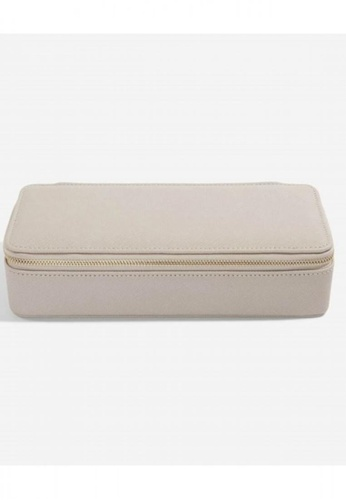 Stackers STACKERS LARGE TRAVEL JEWELLERY BOX (Taupe) FB0B9AC5900821GS_1