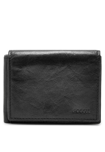Fossil black Fossil Ingram Black Wallet ML3858001 97069AC0A77D87GS_1