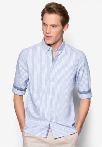 條紋長袖襯衫、 服飾、 服飾ESPRIT條紋長袖襯衫最新折價