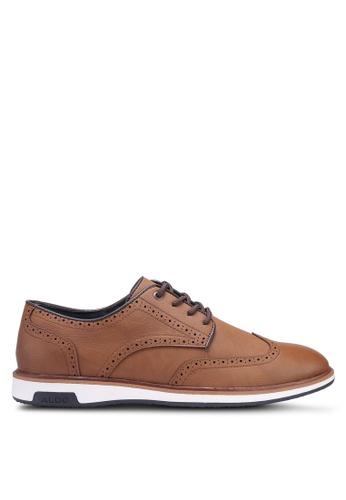 ALDO brown Asterassa Hybrid Lace Up Shoes 40D99SH59784B7GS_1
