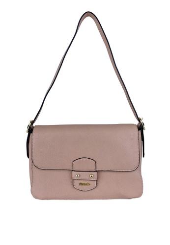 Mel&Co pink Faux Leather Shoulder Bag 6CE29AC4910F24GS_1