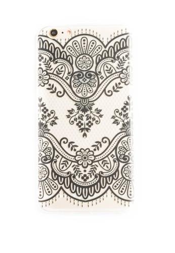 Fancy Cellphone Cases multi Mandala Soft Transparent Case for iPhone 6plus, 6splus FA644AC39QNKPH_1