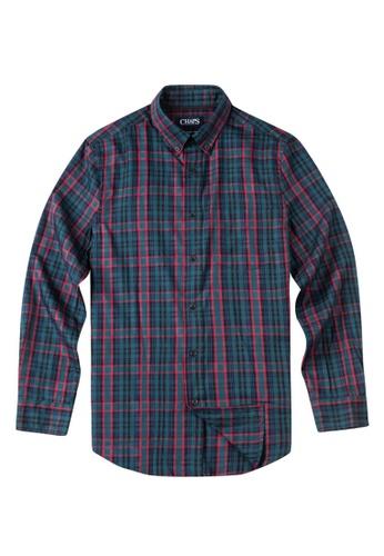 Chaps multi Chaps Tartan Twill Sport Shirt  CH325AA0SJ86MY_1