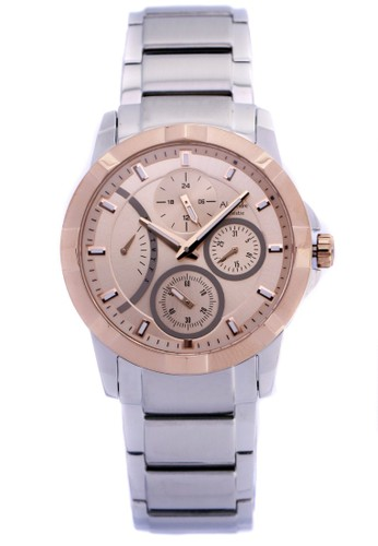 Alexandre Christie silver Alexandre Christie Jam Tangan - Silver Gold - Stainless Steel - 2503 Silver Gold  B4FC0ACD4C5EEDGS_1