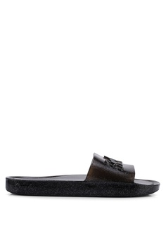 eae1566813f5 Superdry grey Superdry Moulded Pool Sliders CA26BSH8E4E3C4GS 1