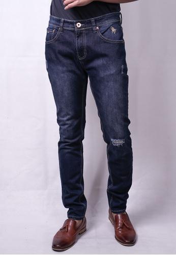 MILANO navy Milano Jeans L/Pants Skinny Stretchable E2BAFAA5B79A04GS_1