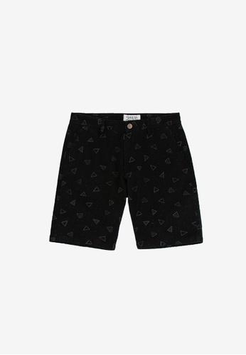 """FOREST black Forest 19/20"""" Full Print Bermuda Shorts Pants Men - Seluar Pendek Lelaki - 70524 - 01Black 6A780AAFBE1651GS_1"""