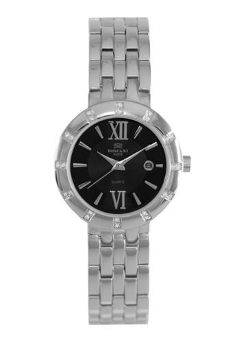 Roscani silver Roscani Crystal B07 (Sunray Dial + Curved Crystal) Stainless Steel Black Bracelet Women Watch 20E30ACA537EBDGS_1