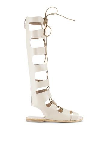 Sunnydaysweety white 2018 New Ghillie Sandals A0220BW 08987SHBF0F6FBGS_1