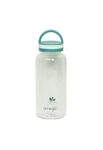 Omega Houseware blue Shannon 1000ml Blue Tritan Sports Water Bottle 00159ACB7689A0GS_1