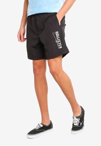 Hollister black Everyday Shorts 9F57CAAFF46D31GS_1