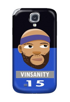 Vinsanity Matte Hard Case for Samsung Galaxy S4