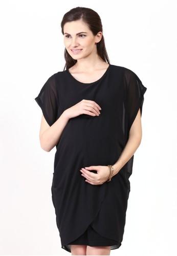 Chantilly black Maternity Nursing Dress Calista 53003 CH841AA68QULID 1 143830f074