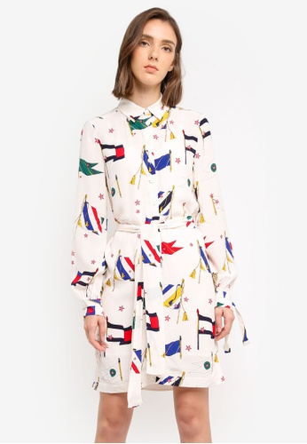Tommy Hilfiger multi MARIE SHIRT DRESS LS 8291DAAA19A3D1GS_1