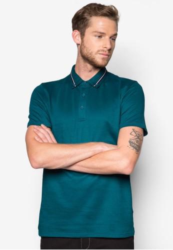 混色條紋POLO 衫, 服飾,zalora 手錶 Polo衫