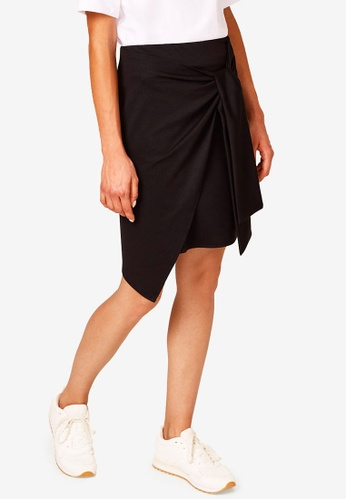 ESPRIT black Knitted Mini Skirt C86A0AA7B53731GS_1