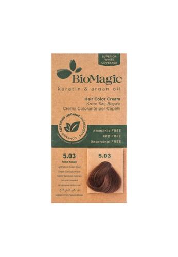 BioMagic BioMagic Organic Hair Color Light Natural Golden Brown (5.03) 113CDBE1546913GS_1