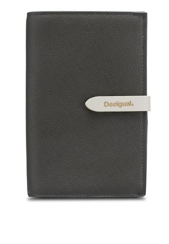 Desigual black Traveller Tricolor Wallet DE160AC0RBL2MY_1