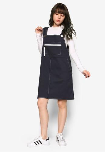 韓式風格吊帶連身裙, 服飾, 京站 esprit洋裝