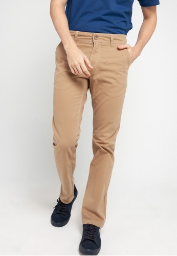 Lois Jeans brown Long Pant Chinnos Twill SLS698LB 324BFAA663EC63GS_1