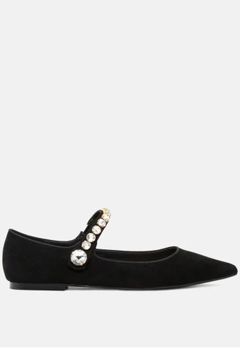 Rag & CO. 黑色 平底芭蕾舞鞋 RCSH1813 867B8SH6D3CB9BGS_1