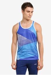 2GO blue Sleeveless T-Shirt 2G729AA0S60GMY_1