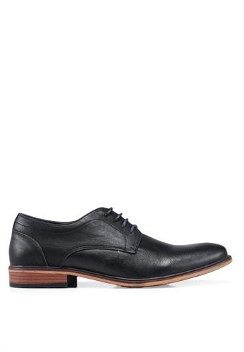 Bata black Lace Up Business Shoes F48CDSH90168D8GS_1