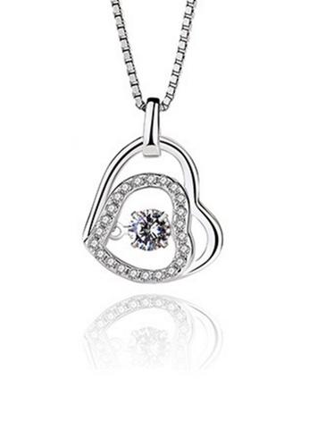 LYCKA silver LPP88031 S925 Silver Necklace 59E7AAC41460DCGS_1